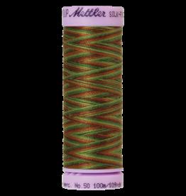 Mettler Silk Finish Cotton Multi 50 - 100 meter 9822 - Forest Land