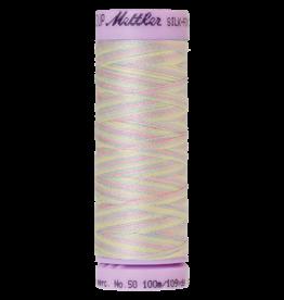 Mettler Silk Finish Cotton Multi 50 - 100 meter 9826 - Baby Blanket