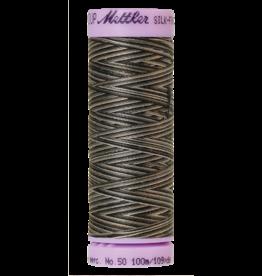 Mettler Silk Finish Cotton Multi 50 - 100 meter 9861 - Charcoal