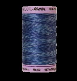 Mettler Silk Finish Cotton Multi 50 - 457 meter 9812 - Evening Blue