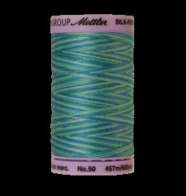 Mettler Silk Finish Cotton Multi 50 - 457 meter 9814 - Seaspray