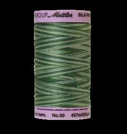 Mettler Silk Finish Cotton Multi 50 - 457 meter 9819 - Spruce Pines