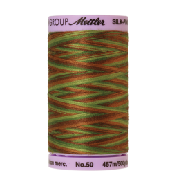 Mettler Silk Finish Cotton Multi 50 - 457 meter 9822 - Forest Land