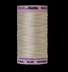 Mettler Silk Finish Cotton Multi 50 - 457 meter 9826 - Baby Blanket
