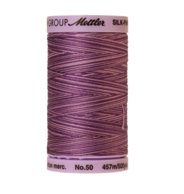 Mettler Silk Finish Cotton Multi 50 - 457 meter 9838 - Lilac Bouquet
