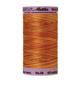 Mettler Silk Finish Cotton Multi 50 - 457 meter 9858 - Falling Leaves