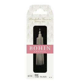 Bohin Milliners/Straw Needles - Nr 3/12