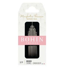 Bohin Crewel/Embroidery - Borduurnaalden - Nr 3/9