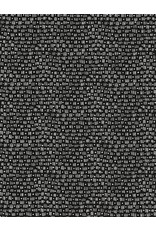 Timeless Treasures Kinfolk - Mini Lines & Dots Black coupon (± 38 x 110 cm)