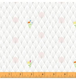 Windham Favorite Things - Flowers White coupon (± 30 x 110 cm)