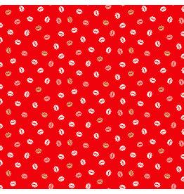 Makower UK Pamper - Lips Red