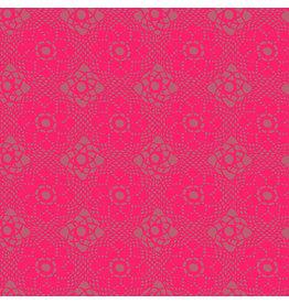 Andover Sun Print 2021 - Crochet Strawberry