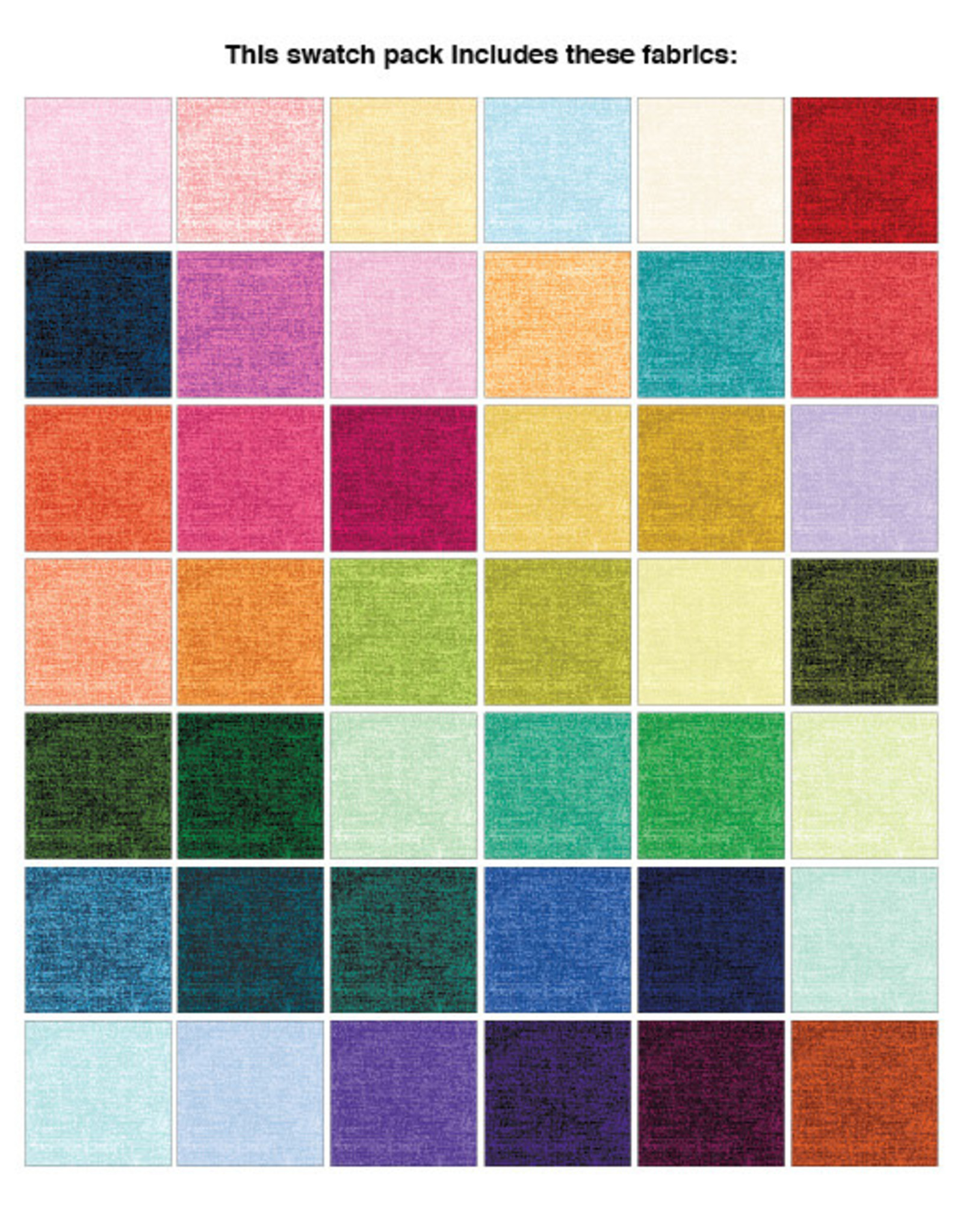 Benartex Amanda Murphy - Cotton Shot - 10 x 10 pack