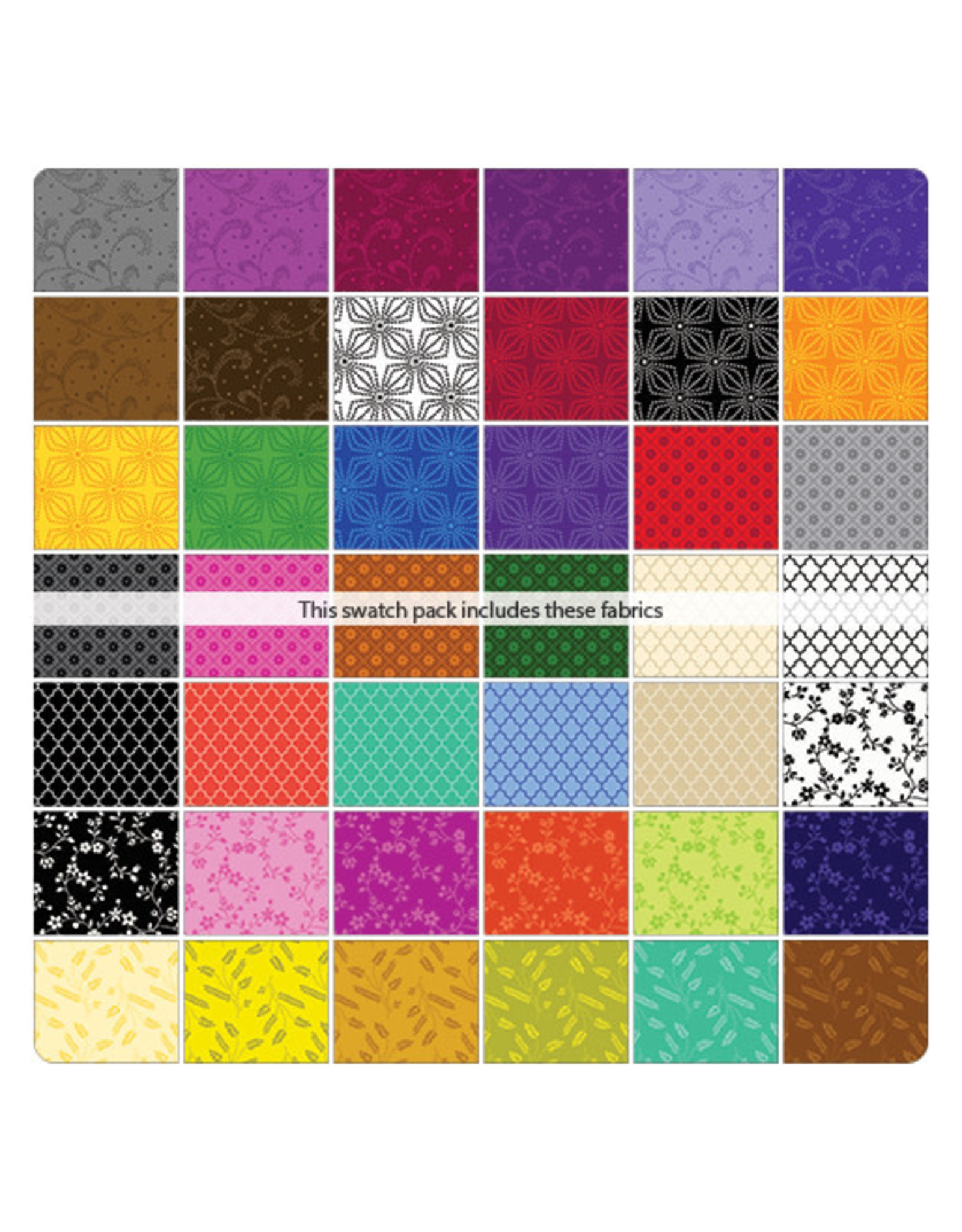 Kanvas Studio Color Theory - 5x5 Pack