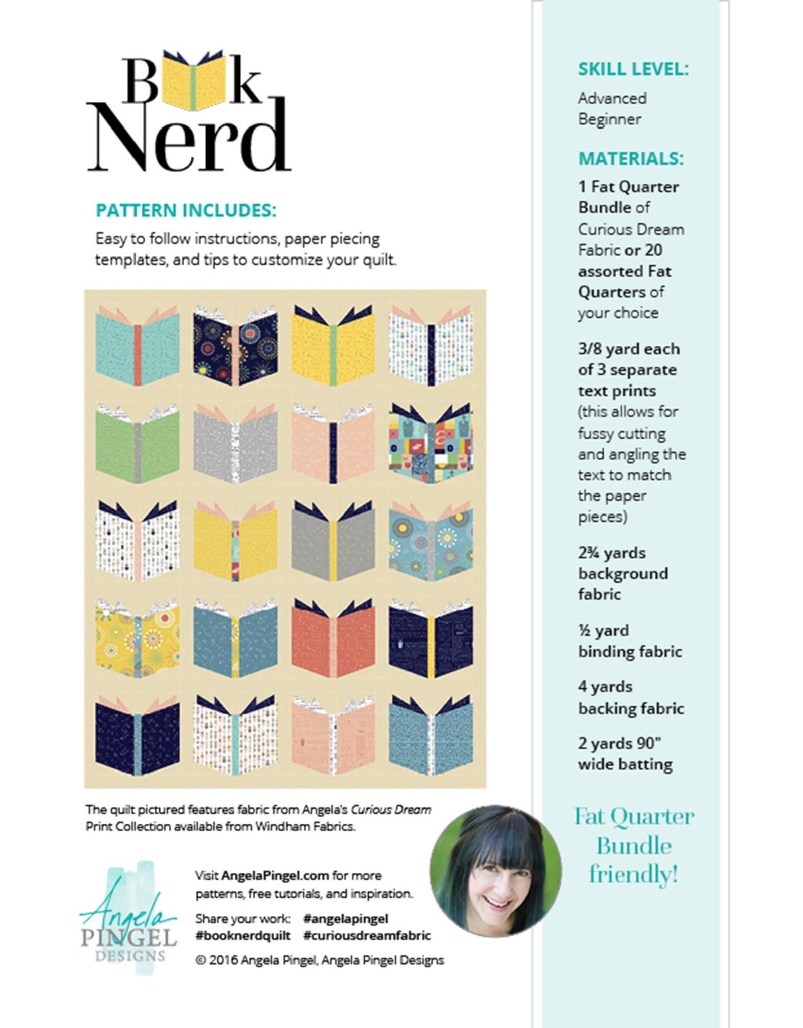 Angela Pingel Designs Angela Pingel - Book Nerd