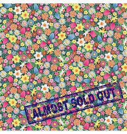 Makower UK Spring - Flowers Pink