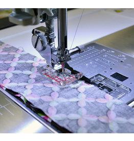 Janome Janome 9 mm - Doorzichtige 1/4 inch patchworkvoet