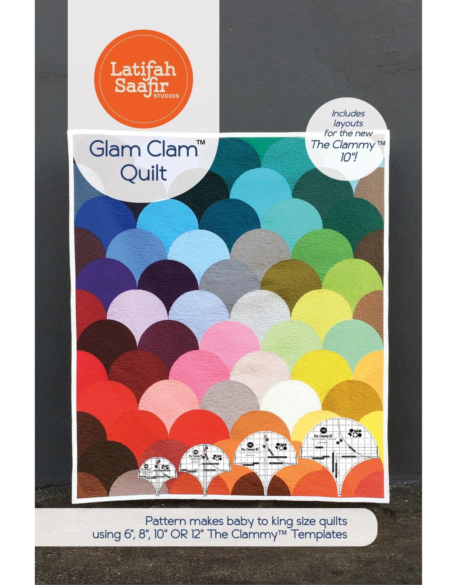 Latifah Saafir Studios Glam Clam Quilt