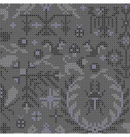 Andover Sunprint 2020 - Menagerie Pepper coupon (± 26 x 110 cm)