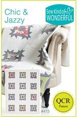 Sew Kind of Wonderful Chic & Jazzy - QCR patroon