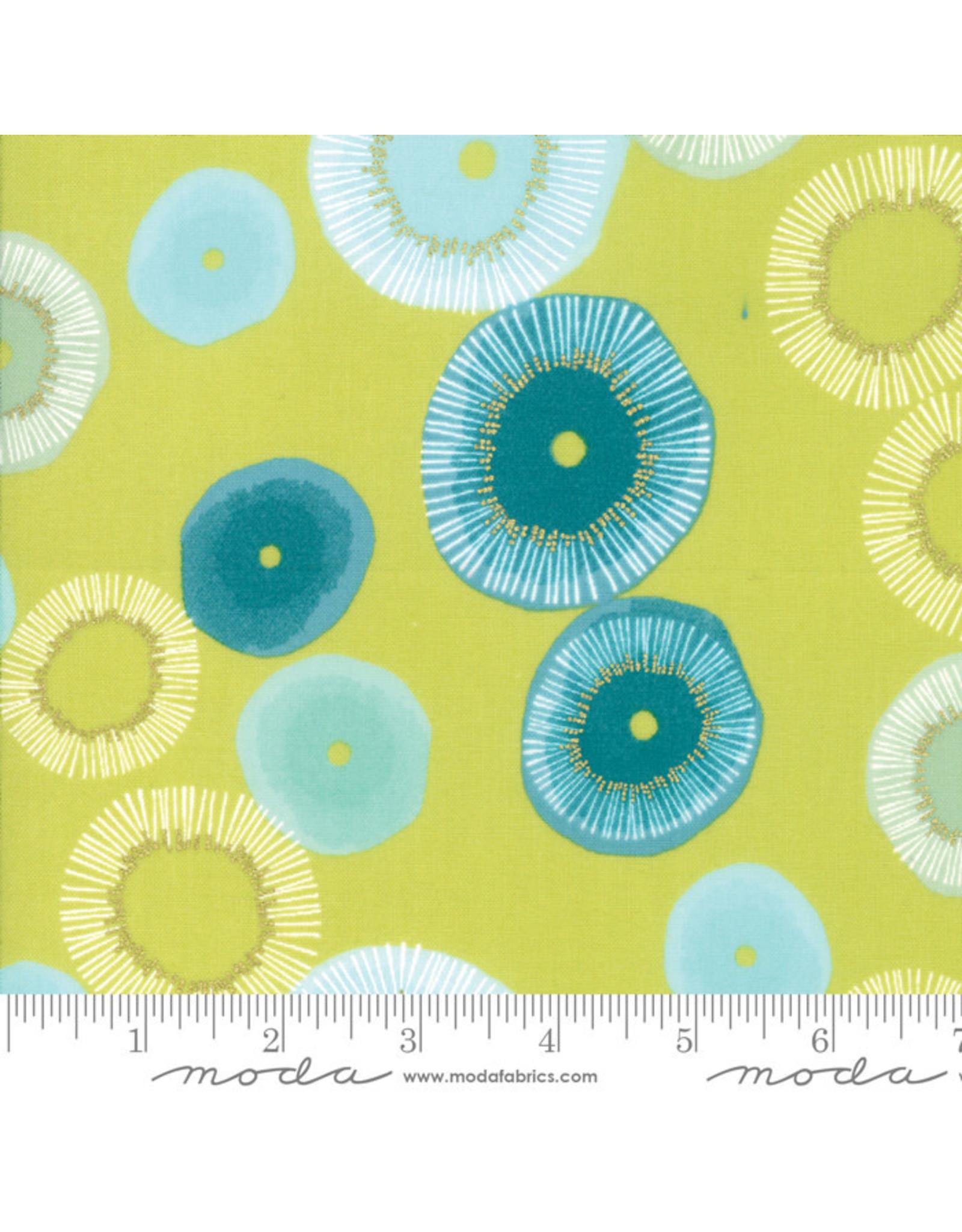 Moda Day in Paris - Blooming Light Green coupon (± 22 x 110 cm)