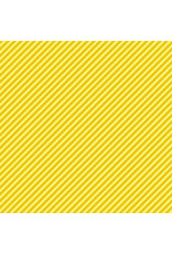Andover Candystripe - Sunflower coupon (± 53 x 110 cm)