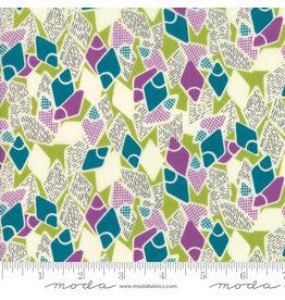 Moda Remix - Flip Flops Light Green coupon (± 26 x 110 cm)