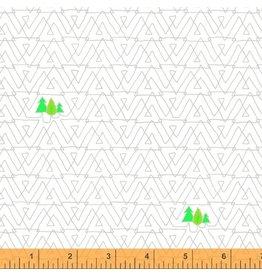 Windham Favorite Things - Trees White coupon (± 32 x 110 cm)