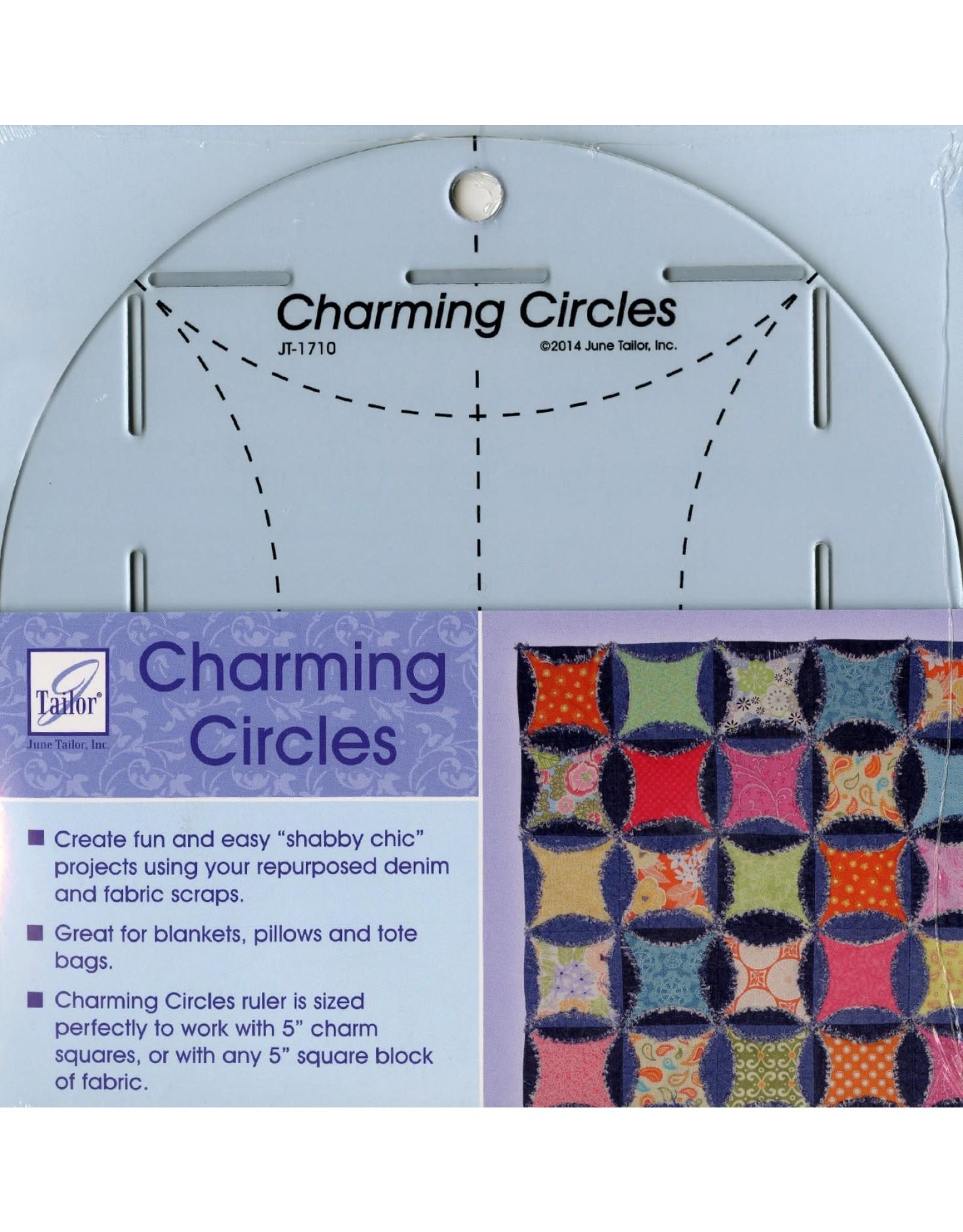 June Tailor Charming Circles Ruler