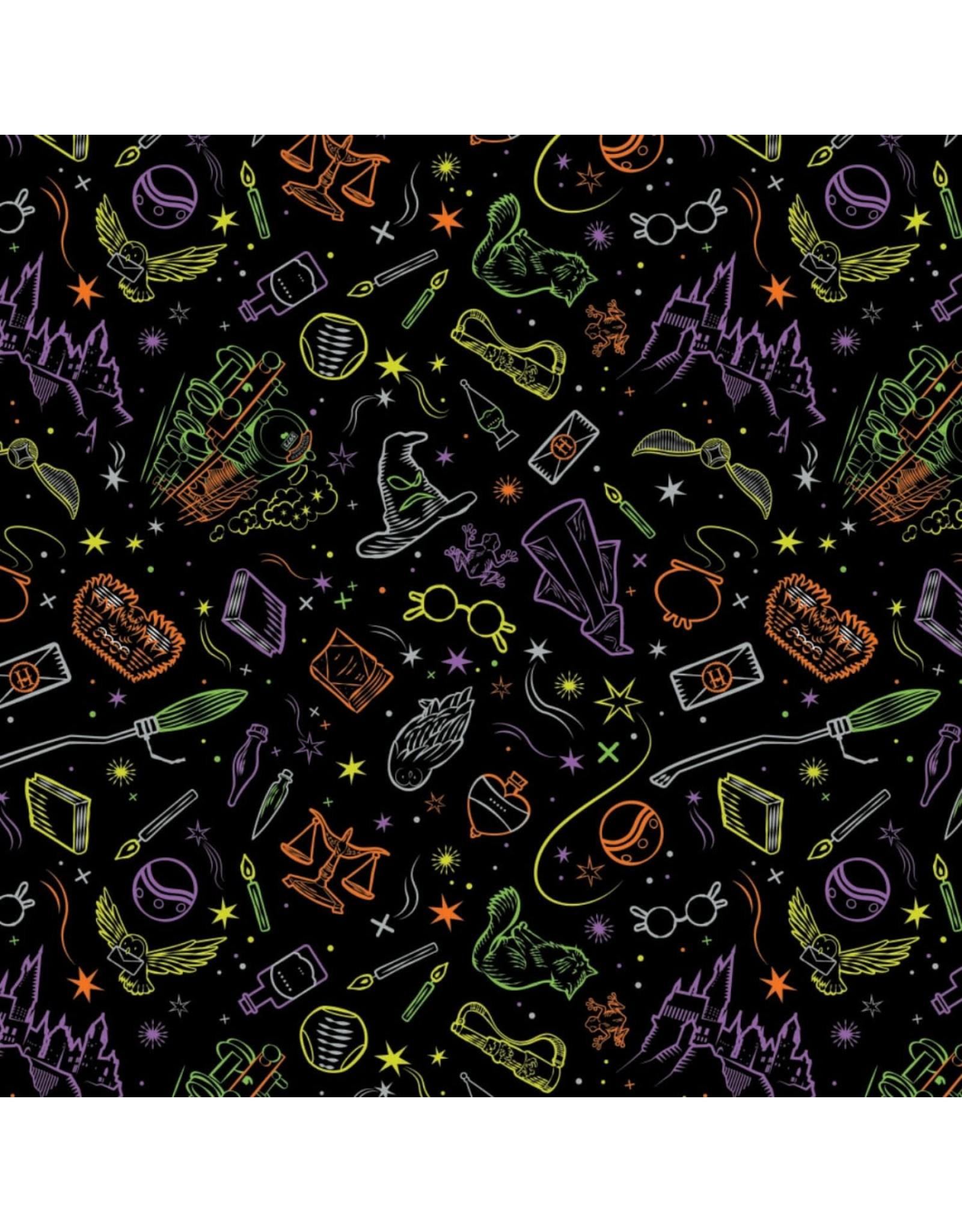 Camelot Black Halloween - Harry Potter Artifacts Toss