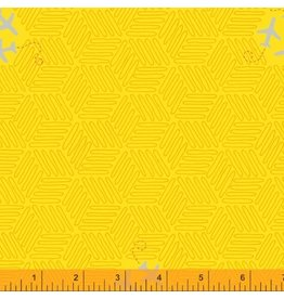 Windham Favorite Things - Airplanes Chrome Yellow coupon (± 14 x 110 cm)