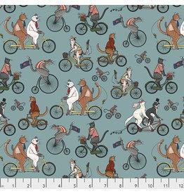 FreeSpirit Cat Tales - Bicycle Race Aquifer coupon (± 41 x 110 cm)