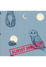 Ruby Star Society Crescent - Forest Dot Light Blue