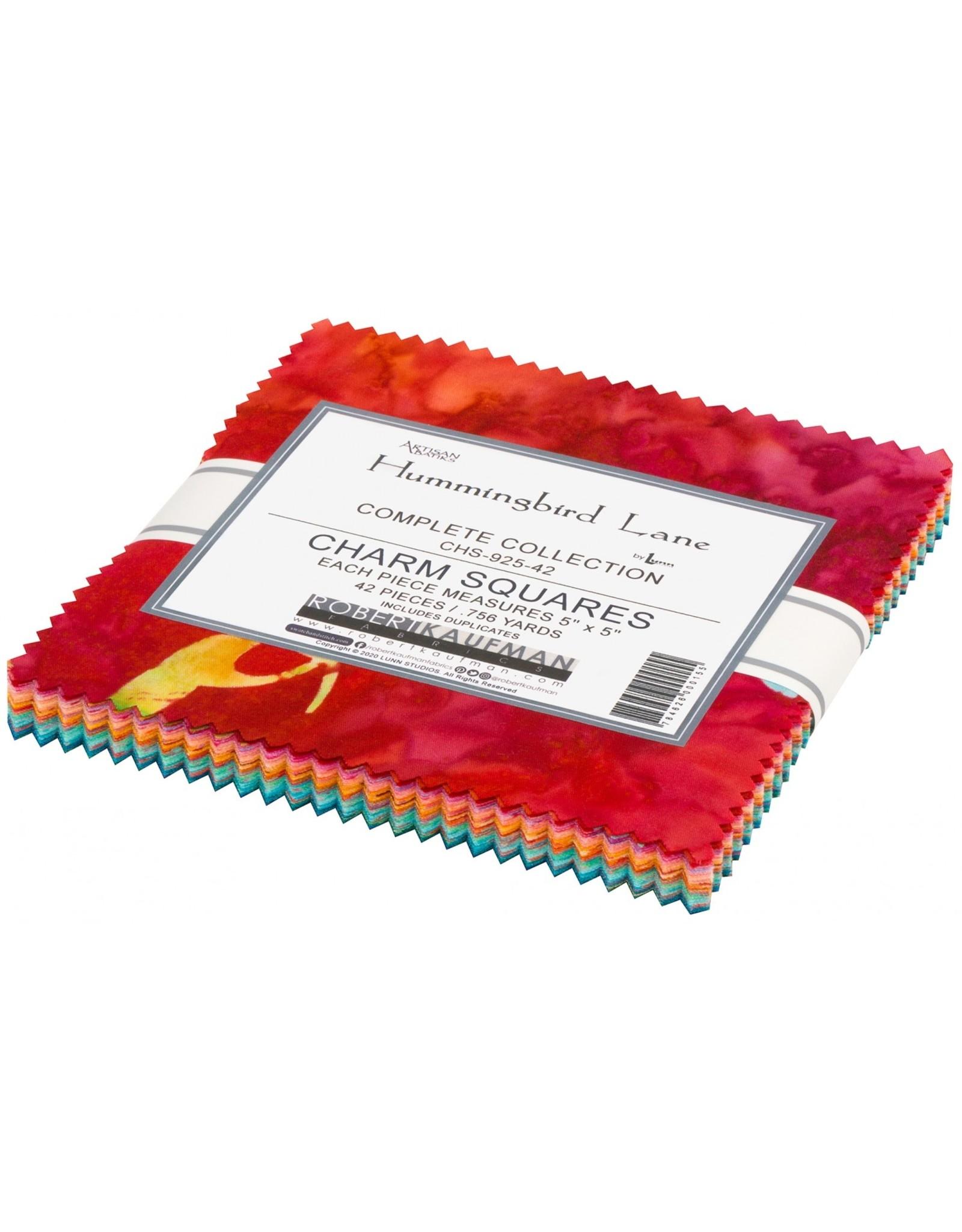 Robert Kaufman Hummingbird Lane Batik - 5 x 5 pack