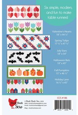 Cluck Cluck Sew Cluck Cluck Sew - Modern Holiday Table Runners