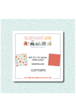 Contempo Terry Runyan - Elephant Joy - 10 x 10 Pack