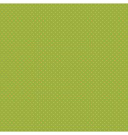 Makower UK Yellow Spot on Green
