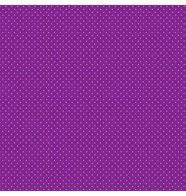 Makower UK Pink Spot on Purple