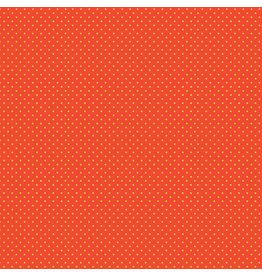 Makower UK Yellow Spot on Orange