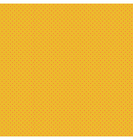 Makower UK Orange Spot on Yellow