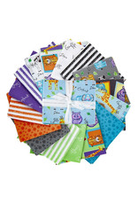Riley Blake Designs Colorful Friends - Fat Quarter pakket
