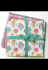 Contempo Awesome Owls - Fat Quarter pakket