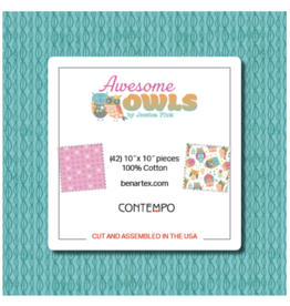 Contempo Awesome Owls - 10 x 10 Pack