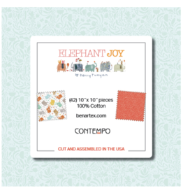 Contempo Elephant Joy - 10 x 10 Pack