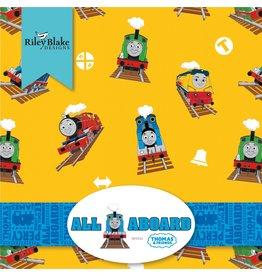 Riley Blake Designs Thomas & Friends - All Aboard - 10 x 10 Pack