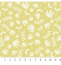 Figo Hand Stitched - Plants Light Mustard