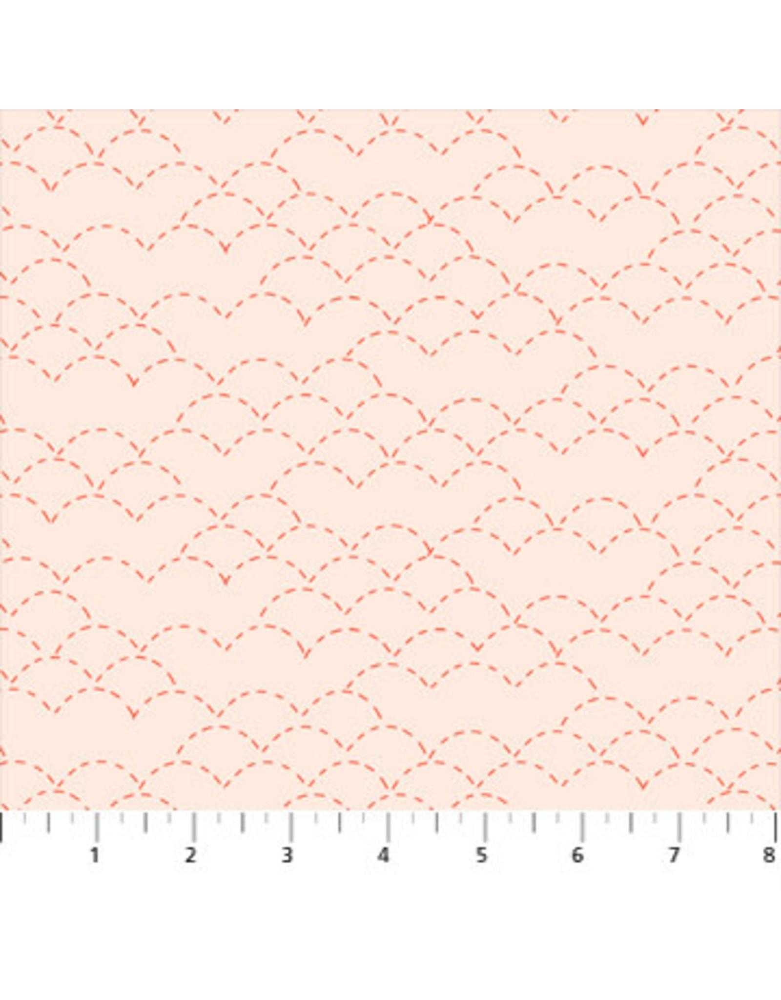 Figo Hand Stitched - Stitches Cream Pink