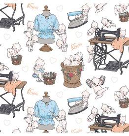 Riley Blake Designs Sew Kewpie - Main Cloud