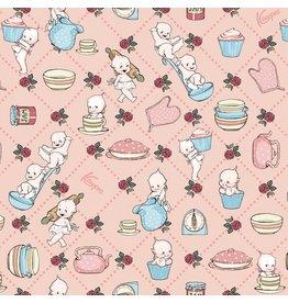 Riley Blake Designs Sew Kewpie - Kooks Blush