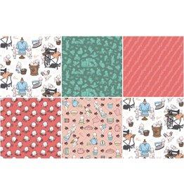 Riley Blake Designs Sew Kewpie - Fat Quarter pakket